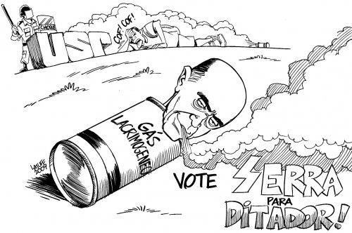 Vote Serra para Ditador