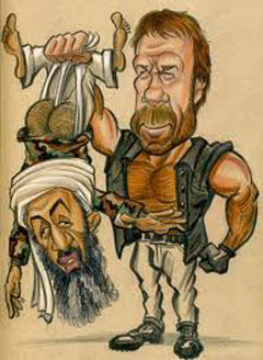 OSAMA BIN LADEN KILLED BY CHUCK NORRIS!